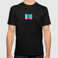 Big Buzz Mens Fitted Tee Tri-Black SMALL