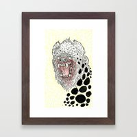 Monstrous And Free Framed Art Print