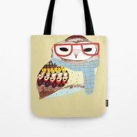 Snug Owl Tote Bag