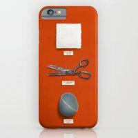 Paper, Scissors, Stone iPhone 6 Slim Case
