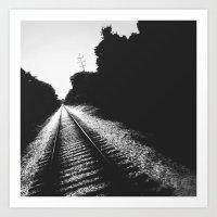 Railroad III Art Print