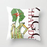 Ziggy Chardust Throw Pillow