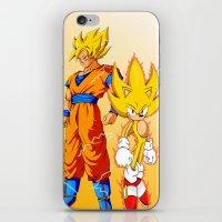 Super Sonic Warriors Z iPhone & iPod Skin