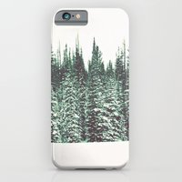 Snow on the Pines iPhone 6 Slim Case