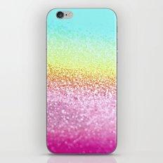 UNICORN GLITTER iPhone & iPod Skin