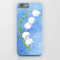 iPhone & iPod Case featuring Lily of the Valley by Floating Lemons