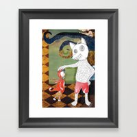 Little Red Riding Hood I… Framed Art Print