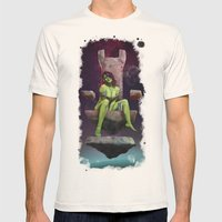 Gamora Of Thrones Mens Fitted Tee Natural SMALL