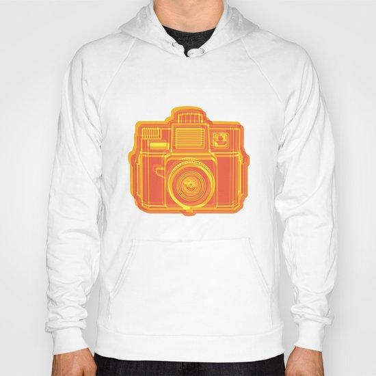 I Still Shoot Film Holga Logo - Yellow & Red Hoody