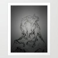 RATA'DROOLLI Art Print