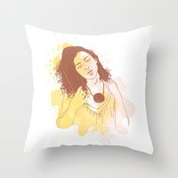 My Passion Throw Pillow