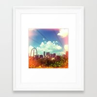 minneapolis Framed Art Print