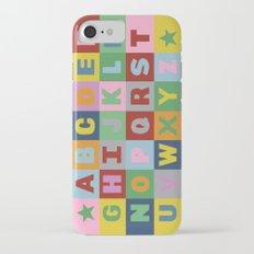 Alphabet iPhone 7 Slim Case