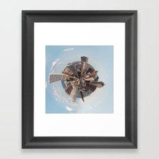 Planet Milwaukee Framed Art Print