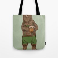 Traditional German Bear Tote Bag