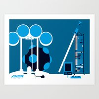 AXOR Systems - Room #2 Art Print