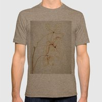 fading Mens Fitted Tee Tri-Coffee SMALL