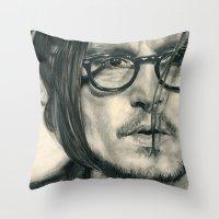 Secret Window Traditiona… Throw Pillow