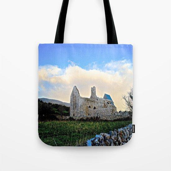 Corcomeroe Abbey Tote Bag