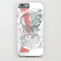 iPhone & iPod Case featuring flour·ish by BEADLER Design and Illustration