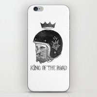 King of the Road iPhone & iPod Skin