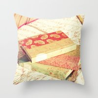 She Has Stories For Days Throw Pillow