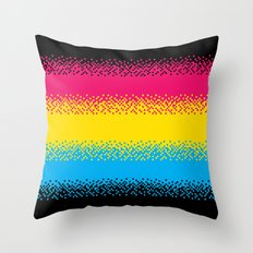 Pixel Perfect Throw Pillow