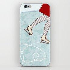 Ice Skating iPhone & iPod Skin