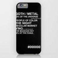 BLACK iPhone 6 Slim Case