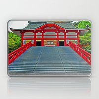 Red Temple Laptop & iPad Skin