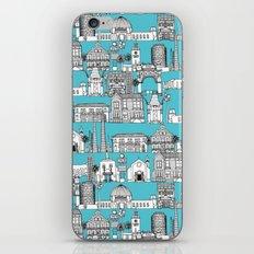 Los Angeles blue iPhone & iPod Skin