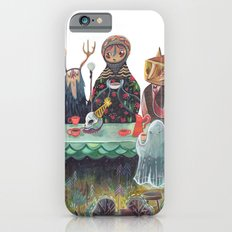 The Art of ruining conversation at dinner parties iPhone 6 Slim Case