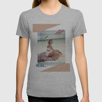 G.K. Collage Womens Fitted Tee Athletic Grey SMALL