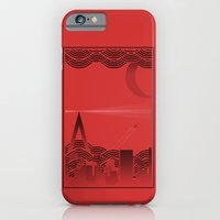 une nuit à paris (red version) iPhone 6 Slim Case