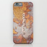 iPhone & iPod Case featuring Wanderlust Map by Sylvia Cook Photogra…