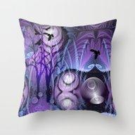 Magical Swamp Throw Pillow