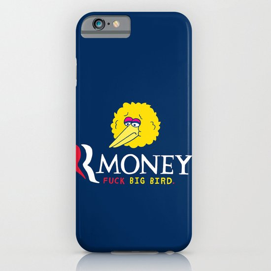 Romney VS Big Bird iPhone & iPod Case