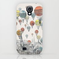 Voyages Over Edinburgh Galaxy S4 Slim Case