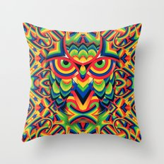 Owl 3 Throw Pillow