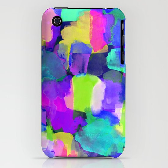 Brushstroke Blue iPhone & iPod Case