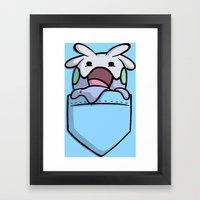 Pokemon: GOOMY Framed Art Print