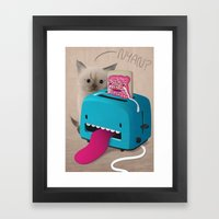 Pop Tart Framed Art Print