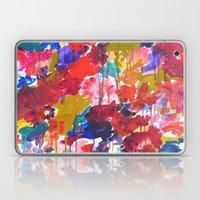 Floral Drip Laptop & iPad Skin