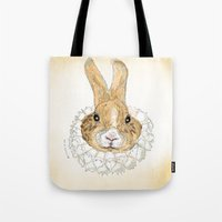 Roller Bunny Tote Bag