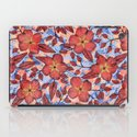 Coral Summer - a hand drawn floral pattern iPad Case