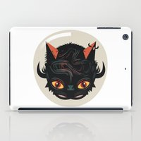 Devil cat iPad Case