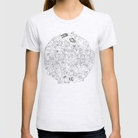 Goon Ball Womens Fitted Tee Ash Grey SMALL