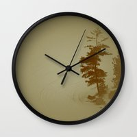 Gunflint Trail Wall Clock