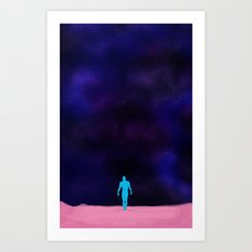 Human life ??? Dr. Manhattan Art Print