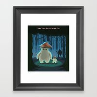Take Your Kid To Work Day Framed Art Print